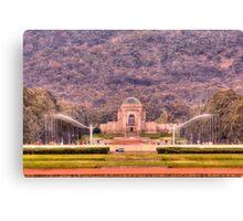 Australian War Memorial Canberra Australia  Canvas Print