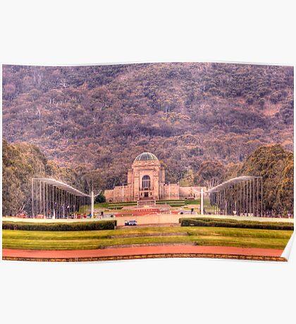 Australian War Memorial Canberra Australia  Poster