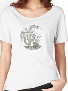 Daytime or Nighttime Desert Storms Women's Relaxed Fit T-Shirt