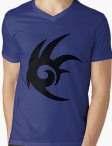 Shadow the Hedgehog Logo black Mens V-Neck T-Shirt