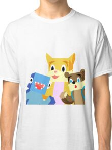 Minecraft Youtuber Stampy Cat, iBallisticsquid, L for Lee x Classic T-Shirt
