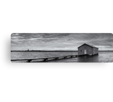 Crawley Edge Boatshed - Perth WA  Canvas Print