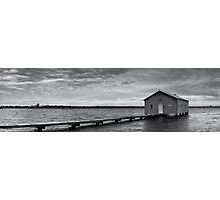 Crawley Edge Boatshed - Perth WA  Photographic Print