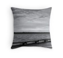 Crawley Edge Boatshed - Perth WA  Throw Pillow
