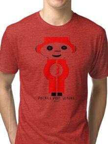 Pocket Pool (Red Ball #3) Tri-blend T-Shirt
