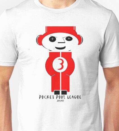 Pocket Pool (Red Ball #3) Unisex T-Shirt