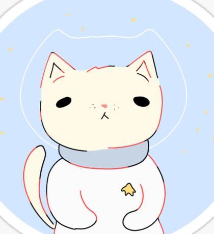space cat Sticker