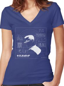 V.I.S.O.R. Technologies Women's Fitted V-Neck T-Shirt