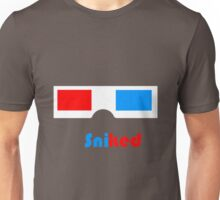 Sniked 3D Glasses Unisex T-Shirt