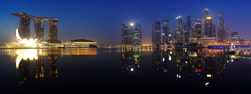 Early Riser - Singapore by Maxwell Campbell