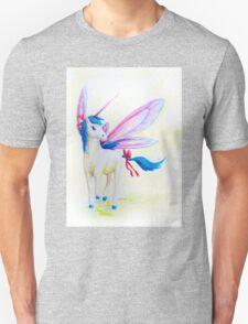 Blue Mane Fairy Unicorn  T-Shirt