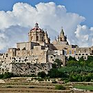 St. Paul's Cathedral, Mdina, Malta by Gerda Grice