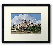 St. Paul's Cathedral, Mdina, Malta Framed Print