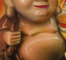 Big Buddha Bob Sticker