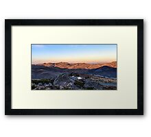 Towards Mt Feathertop Framed Print