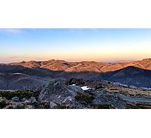 Towards Mt Feathertop Photographic Print