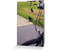Two Crows 04 11 12 Greeting Card