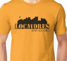 Locavores Support Local Business Unisex T-Shirt