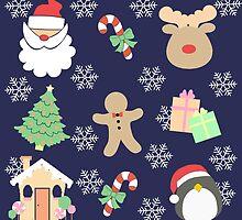 Santa & His Helpers #2 by simplepaperplan