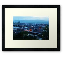 Derry at dusk Framed Print