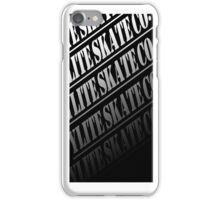 YLITE SKATE CO iPhone Case/Skin