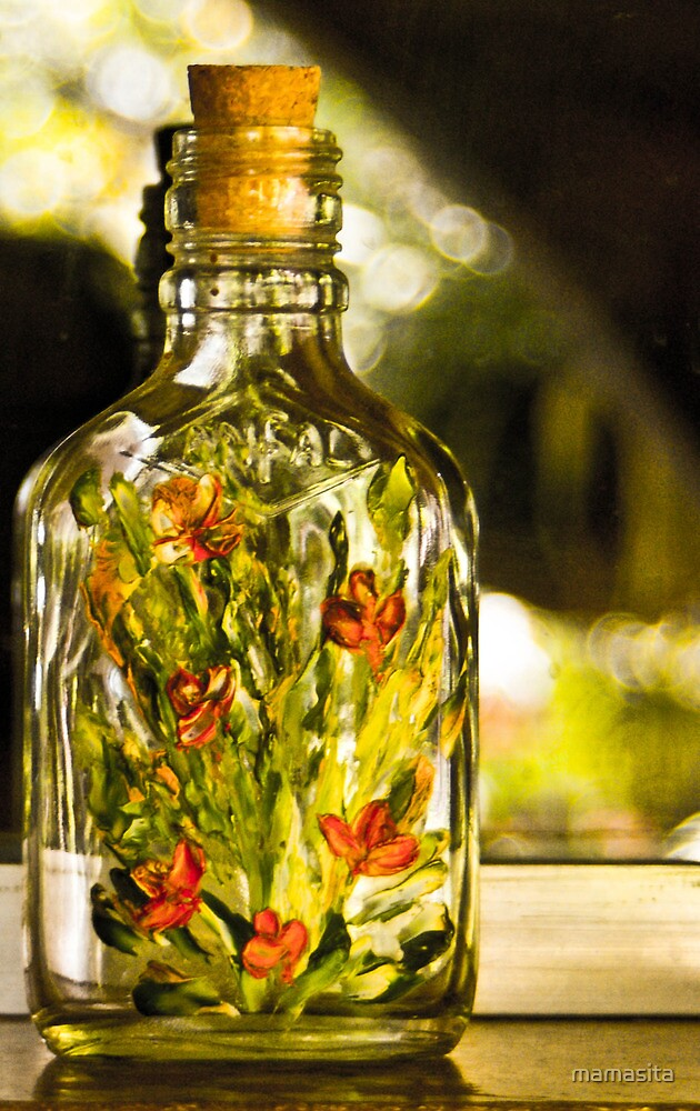 Flower's In A Bottle by mamasita