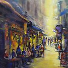 Melbourne's laneway by Ivana Pinaffo