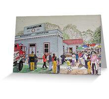 The InauguralTallarook Farmer's Market   Greeting Card