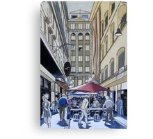 The Majestic Majorca Building in Melbourne Canvas Print