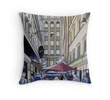 The Majestic Majorca Building in Melbourne Throw Pillow