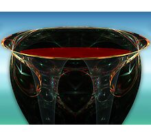 BC3DFlowers #7: The Chalice of My Blood (G0942) Photographic Print