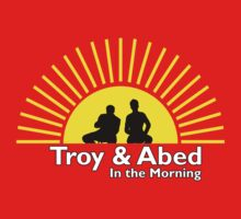 Troy and Abed in the Morning by d3mentia