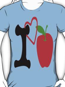 ღ♥I Love Apple Clothing & Stickers♥ღ T-Shirt