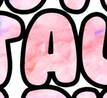 Zeta Tau Alpha Cotton Candy Sticker