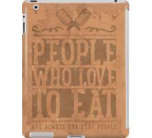 PEOPLE WHO LOVE iPad Case/Skin