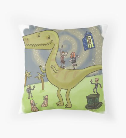 Party with the Ponds Throw Pillow