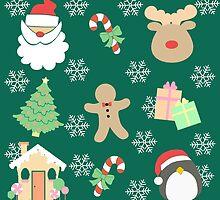 Santa & His Helpers #5 by simplepaperplan