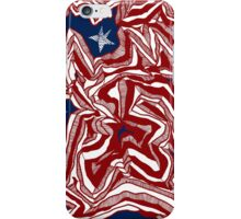 Abstract American Flag iPhone Case/Skin