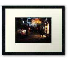 Kirovski Prospect. Twilight Framed Print