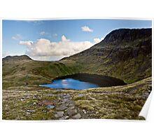 Angle Tarn - Rossett Pike, Cumbria Poster