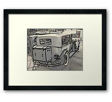 1930 Pierce Arrow5 Framed Print
