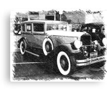 1930 Pierce Arrow8 Canvas Print