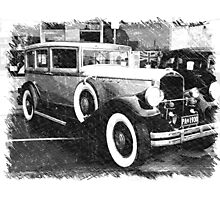 1930 Pierce Arrow8 Photographic Print