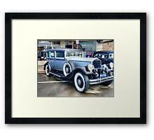 1930 Pierce Arrow10 Framed Print