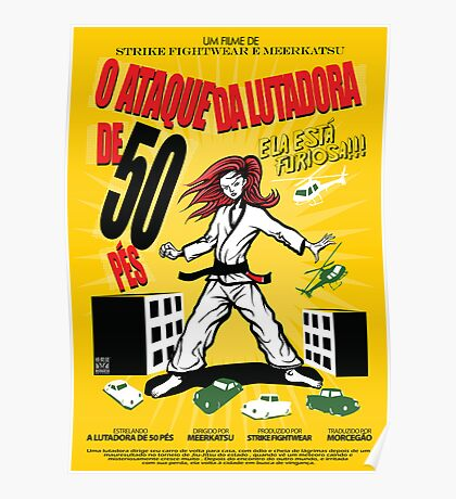 Attack of the 50 Foot Lutadora Poster
