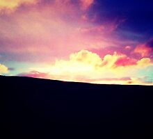 Pullman Sunset - Greeting Card by stylerustique
