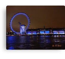 THE GREAT LONDON EYE Canvas Print