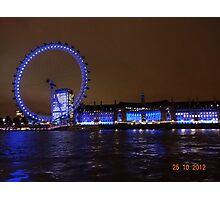 THE GREAT LONDON EYE Photographic Print