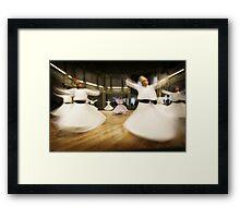 Dervishes - Istanbul - Turkey Framed Print