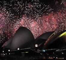 Sydney Opera House Shining Bright by Kymbo